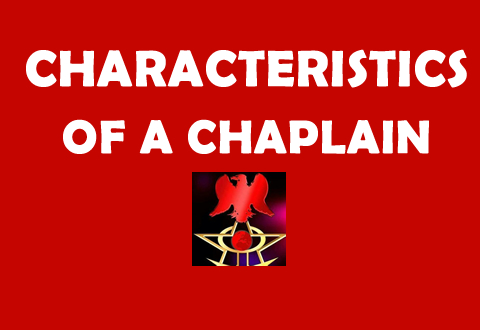 Characteristics of a Chaplain