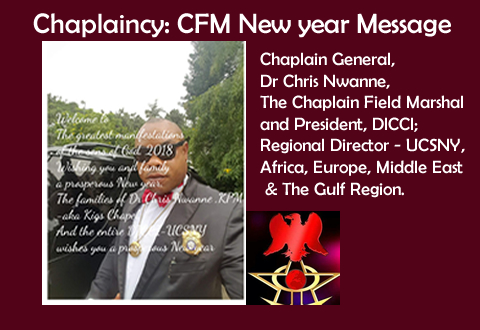 Chaplaincy: CFM New year Message