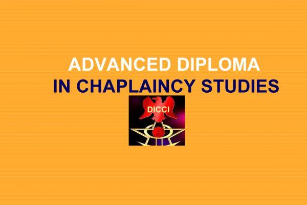 Advanced Diploma in Chaplaincy Studies