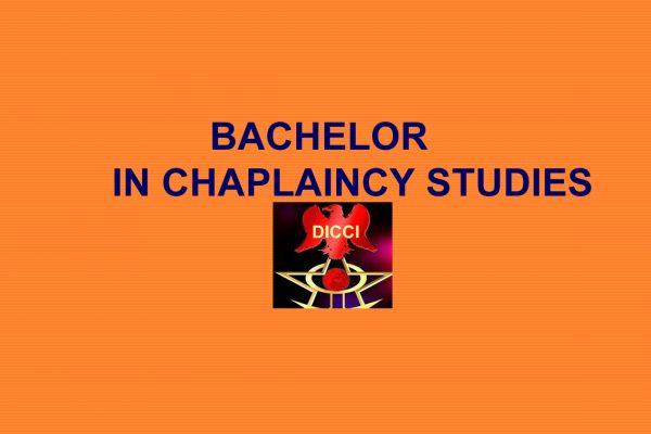 Bachelor in Chaplaincy Studies