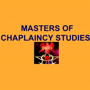 Masters in Chaplaincy Studies